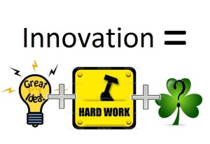 Luck in Innovation