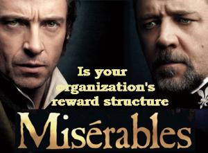 Miserables Reward Structure